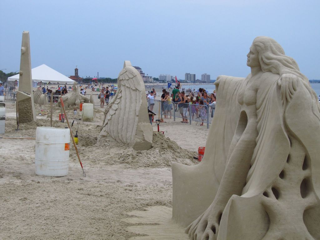 More sand sculptures at Revere Beach