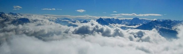 Alps clouds