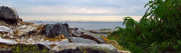 Calf Island in Boston Harbor