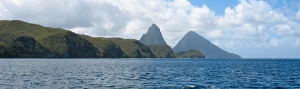 Pitons in St. Lucia