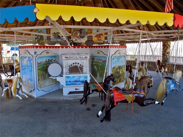 Watch Hill Rhode Island Flying Horse Carousel