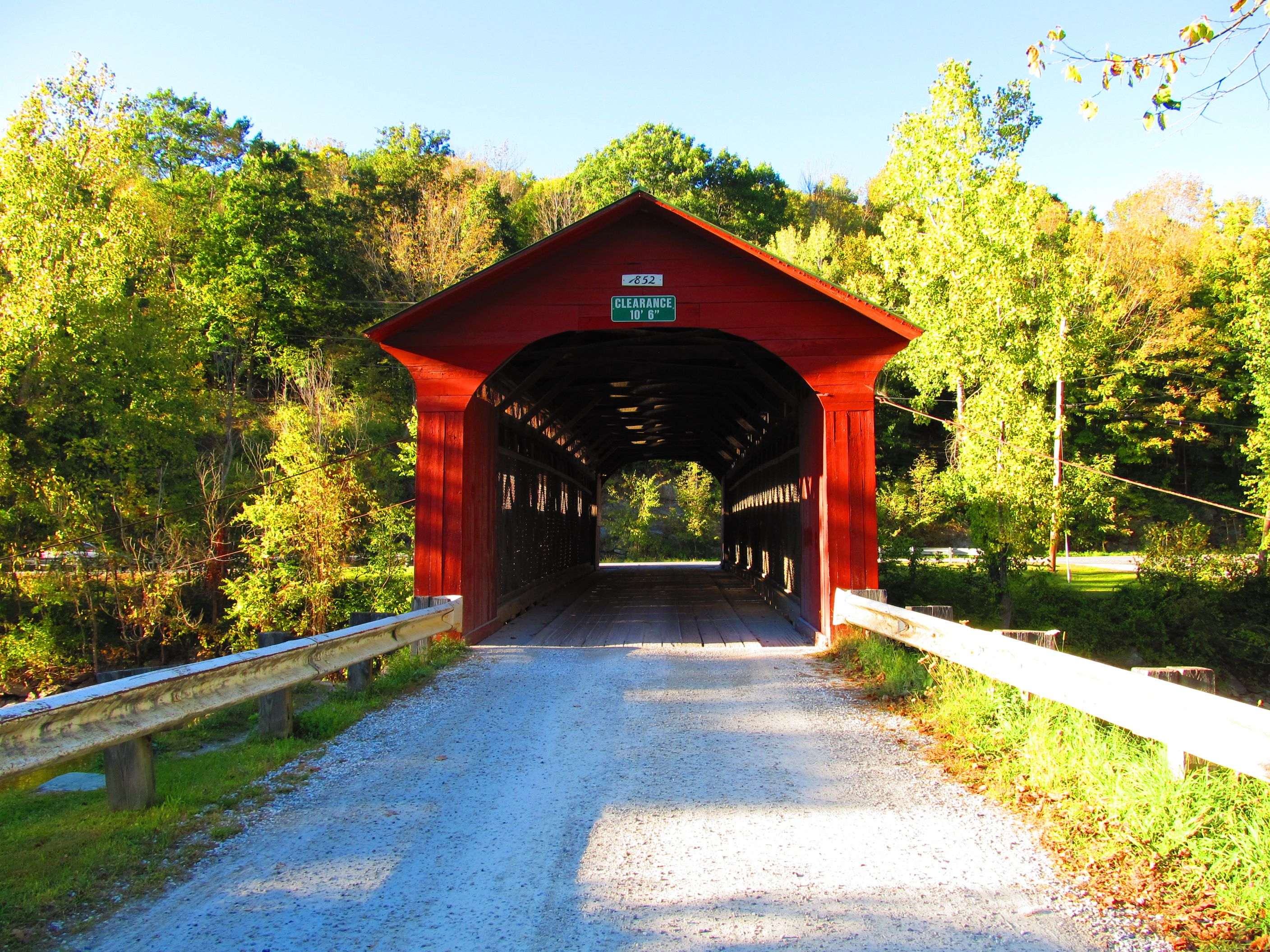 Covered Bridge At New England College - New England Today |New England Covered Bridges Tour